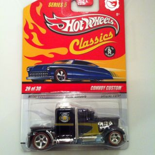 Hot Wheels Classics Convoy Custom Deep Purple 26 30 New MIB Very RARE