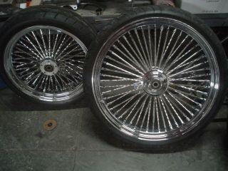 Harley Custom Set Wheels 23 Front 18 Rear