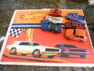 1967 HOT WHEELS CASE 31 OLD HOT WHEELS CARS 2 TOOTSIE TRUCKS 3 RED