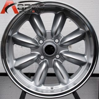 Rota RB 15x7 4x108 ET30 73 1 Royal Silver Rims Wheels