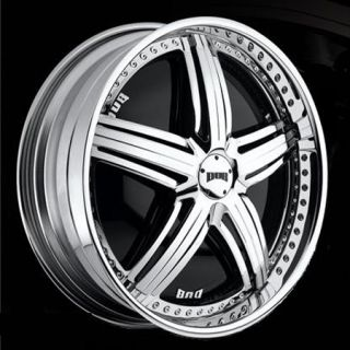 24 Dub Spin Padrone Wheel Set 24X10 Chrome Spinner Rims for rwd 5 6