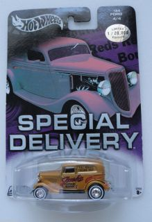 Hot Wheels 34 Ford Special Delivery Limited Edition Diecast 1 64 RARE