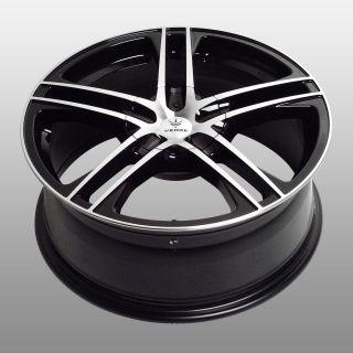 18 Verde V36 Black Mach Lip New Wheels New Tires Fit Nissan Toyota