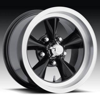 US Mags Standard FOOSE Style Black Torque Thrust Rims Wheel Set