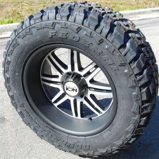20 ion Alloys 183 Wheels Rims 35 Federal M T Tires Ford F 250 F 350