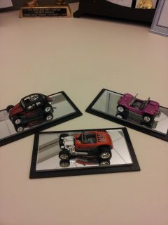 Hot Wheels 3 Car Assorted Lot   Custom VW Bug, Dune Buggy UH, 34 Ford