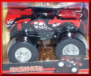 Hot Wheels Monster Jam Truck Arachnaphobia 27 75 with Flag