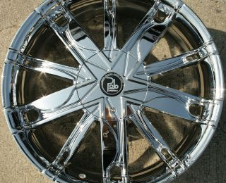 20 Chrome Rims Wheels Mitsubishi Eclipse 96 Up 20 x 8 5 5H 38