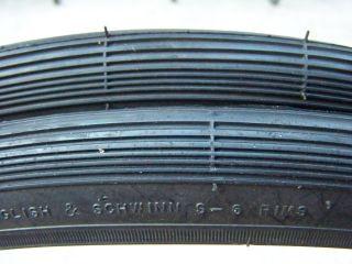 26x1 3 8 1 4 New Pair 2 Schwinn s 6 Rim Tires Vintage Bicycle 37 597