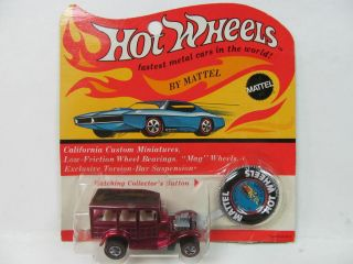 Hot Wheels Redline 31 Ford Woody Classic Rose Pink Blister Pack Buy it