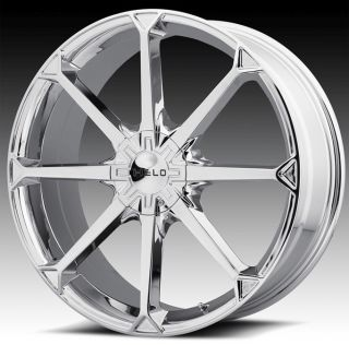 17 inch Helo Chrome Wheels Rims 17x7 5 42 5x108 Volvo V 70 XC60 XC70