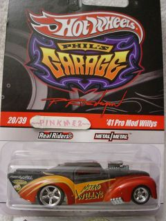 2010 Hot Wheels Phils 41 Pro Mod Willys Coupe★black★