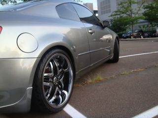 20 Gianna Blitz Stagger Wheels Rims Tires G35 G37 350Z