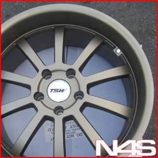 E60 525 528 530 535 540 550 M5 TSW Willow Staggered Wheels Rims