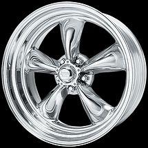 15 15x7 Torq Thrust II Wheels Rims for Old School General Motors 5x4