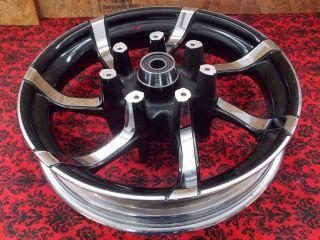 09 Up Harley Touring Agitator 18x3 5 Front Wheel Rim