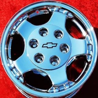 NEW 16 CHEVROLET SILVERADO ASTRO SUBURBAN OEM CHROME WHEELS RIMS 5073