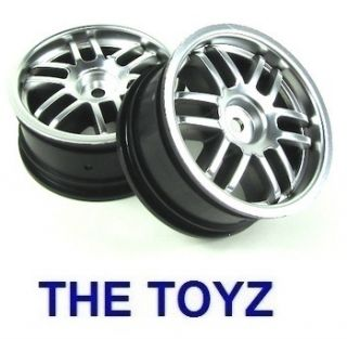 Traxxas 1 16 Mini Car Rally Satin Chrome Wheel Rims TRA7371A