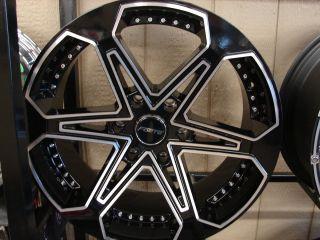 20 Tahoe Yukon Sierra Silverado Denali Titan Armada Wheels