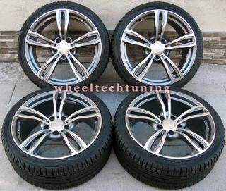 19 BMW M5 Style Staggered Wheels and Tires for 325i 328i 330i 335i Z3