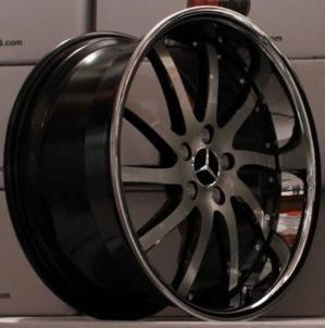 RW4 Wheels Set For Mercedes SL 55 SL 65 CLS 500 600 CLS 55 Rims & Caps