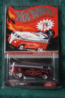 Hot Wheels Thank You Red Line Club Members Customized VW Drag Bus