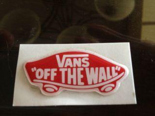 Sticker Decal Red White Acrylic Puffy Trucks Wheels