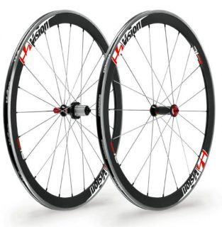 FSA Vision Trimax T 42 Carbon Road Bike Wheels Shimano SRAM
