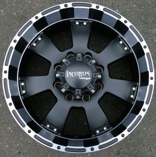 Incubus Krawler 815 20 Black Rims Wheels Chevy 2500 Hummer 8 Lug