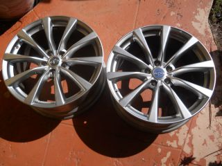 Infiniti G37 s 19 Coupe Factory Rims Wheels Rear M45 G35 Enkei 73704