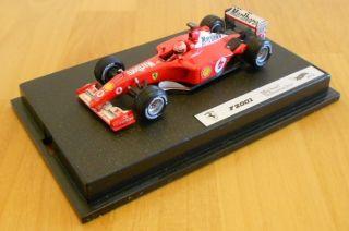 F2001 Formula 1 Michael Schumacher Marlboro 1 43 Hotwheels