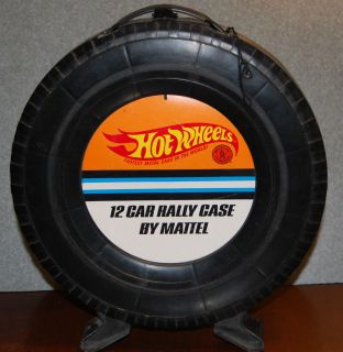 Mattel Hot Wheels 12 Car Rally Case Redline Era