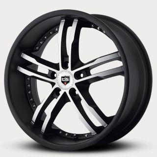 20 Tis Black Wheels Rims Chrysler 300 AWD Wheelrack 877 955 9515