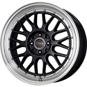 New 17x7 5 4x100 4x114 3 Drag Dr 44 Black Wheel Rim