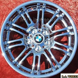 NEW 18 BMW M3 E46 FACTORY OEM CHROME WHEELS RIMS 335I EXCHANGE 59367