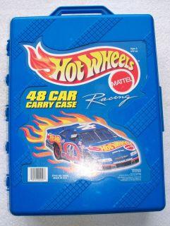 Mattel Hot Wheels 48 Car Case Carrying Travel Storage Organizing 20020