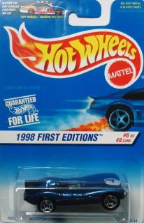 1998 Hot Wheels First Edition Jaguar D Type 6 48 6 of 48 Card