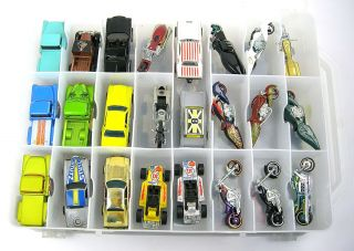 48 Hot Wheels Motorcycle Cars Trucks Camero Z28 Snake 29 Ford PU CASE4