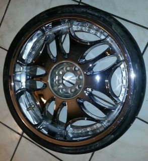 Used 20 inch Rims Tires Included