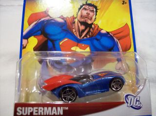 2012 Hot Wheels DC Universe Superman Car   New   HTF