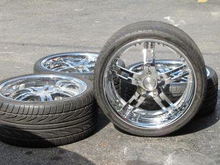 C6 Narrow Body 20 Chrome Wheels Coupe Convertible Rims 05 2005