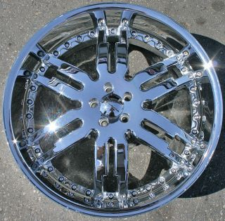 Giovanna Caracas 22 Chrome Rims Wheels Magnum RT Base