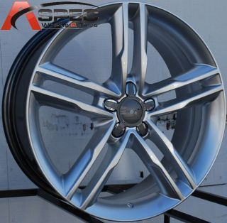18x8 0 S5 Style Wheels 5x112 Rims 35mm Fit Audi A4 A5 A6 A8 S4