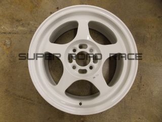 Rota Wheels Slipstream White 15x6 5 40 4x100 Honda Acura Spoon Civic