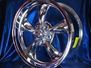 18 CHROME 5 SPOKE CLASSIC 100 WHEELS RIMS FOR 2WD CHEVY S10 / BLAZER