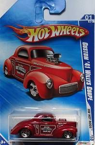 Hot Wheels Custom 41 Willys Coupe HW Hot Rods 10 Red