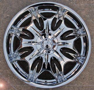 Incubus Jinx 716 20 Chrome Rims Wheels Maxima Altima Murano
