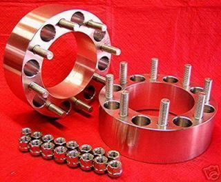 GMC  dually  HD  2500  3500 2 inch  6061 T6  2 WHEELS SPACERS