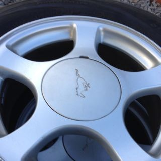2004 Ford Mustang Rim Tires Wheels with Center Caps