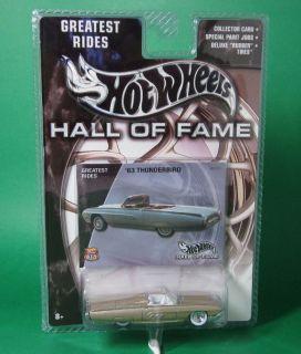 Hot Wheels 1/64 1963/63 Ford Thunderbird/T Bird Sports Roadster   Met